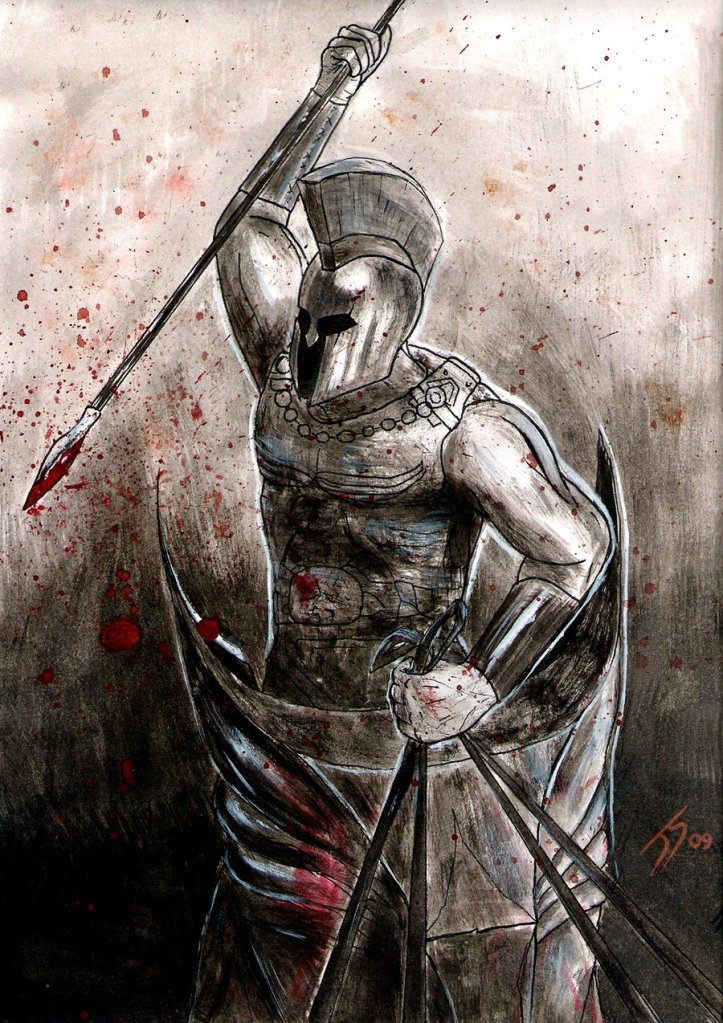 Greek_Warrior_by_Jsohpaul