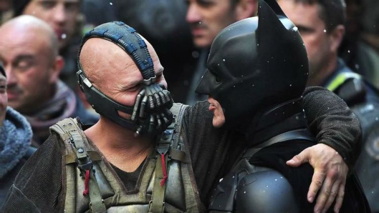 the-dark-knight-rises-behind-the-scene-batman-bane-rehearse