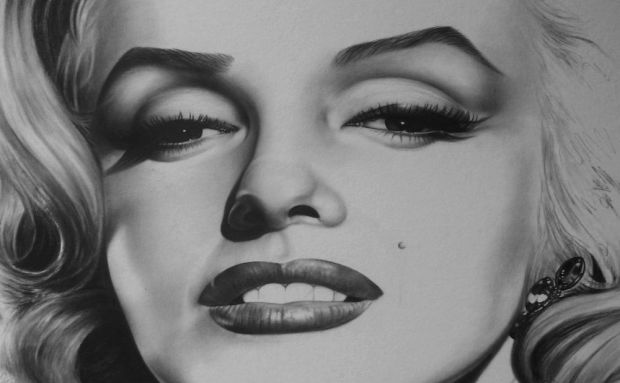 marilyn_monroe_drawing_by_timeless_faces