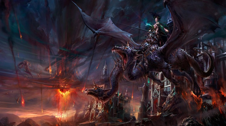 Pc-Wallpaper-Fantasy-Myth-Dragon-Wars-Wallpaper