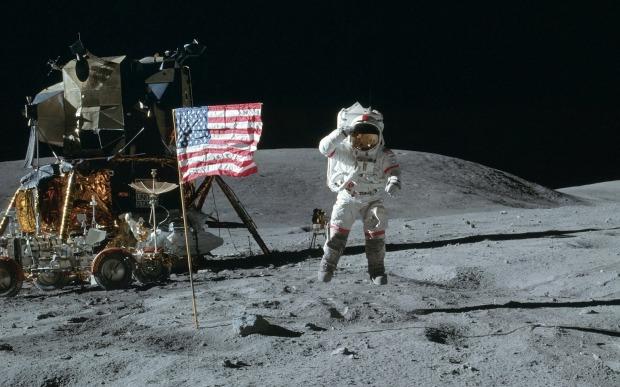 Moon Landing 1920x1200 wallpaper