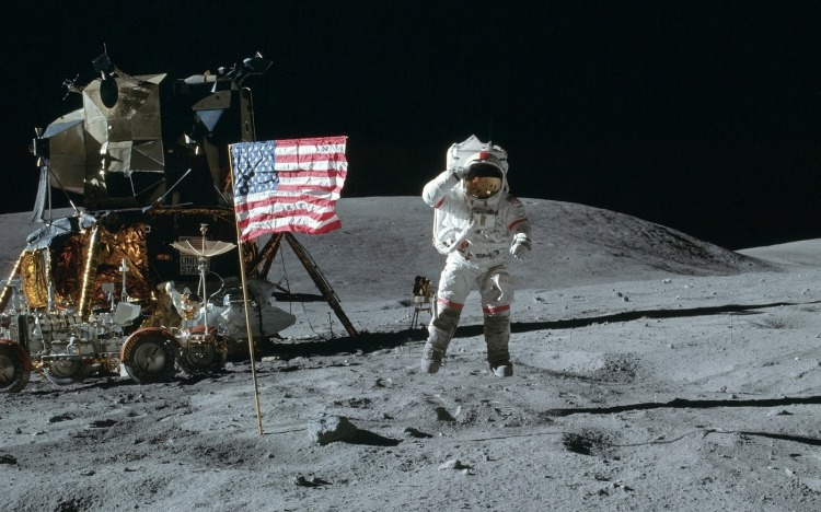 Moon Landing 1920x1200 wallpaper