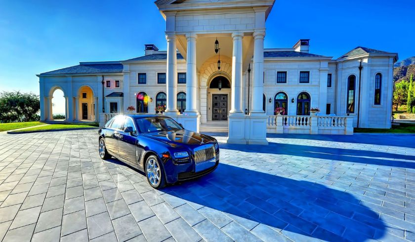 luxury-house-and-car-wallpaper-00933