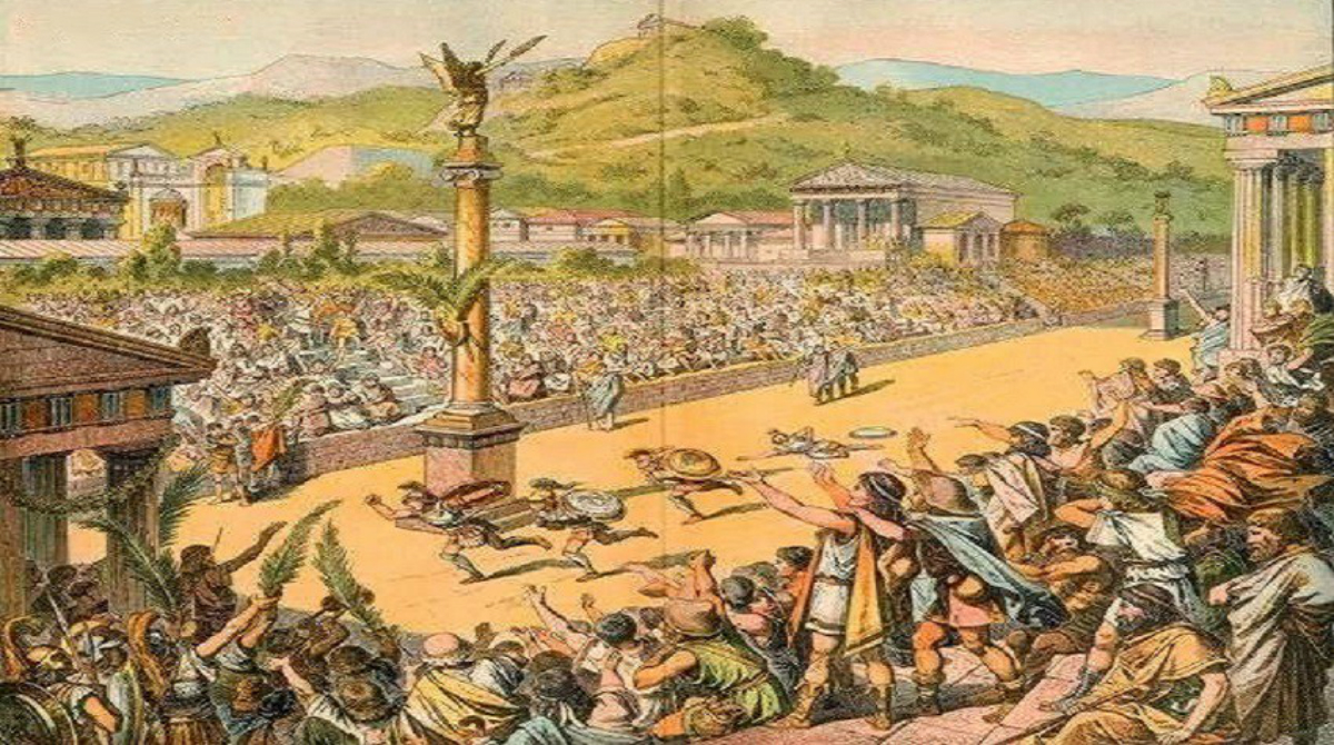 the ancient greek olympics Facts about ancient greek olympics 5: zeus zeus was considered as the main god for the greeks before the athletes began the games, they had to take a vow to zeus that they had followed the training for this event for 10 months.